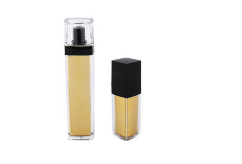 Square Acrylic Lotion Bottles With Pump