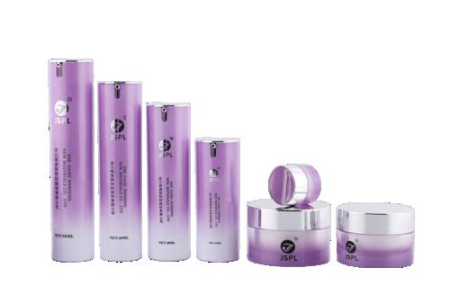 Botellas / frascos de bomba sin aire sin tapón de color púrpura